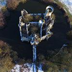 Замок Мот-Шанденье во Франции