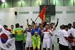 Команда Посольства Кыргызстана в России стала победителем турнира по мини-футболу в рамках XVIII Зимних дипломатических игр в Подмосковье