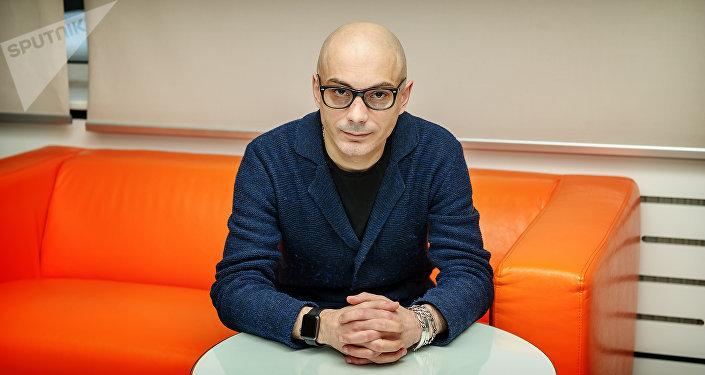 Журналист и радиоведущий, блогер, писатель и публицист Армен Гаспарян. Архивное фото