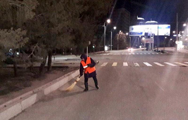 Сотрудница МП Тазалык, которая погибла в результате автонаезда на пересечении улиц Абдрахманова и Аалы Токомбаева