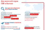Выборы из-за границы: как граждане России могут проголосовать в Кыргызстане