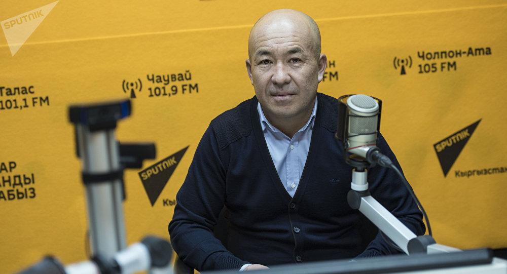 Бишкек мэриясынын Дене тарбия жана спорт башкармалыгынын башчысы Ырысбек Мааткабылов