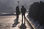 Бишкекте күндүн суушу. Архивдик сүрөт