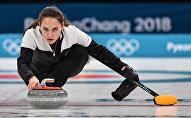 Россиялык Анастасия Брызгалова спорттун керлинг түрү боюнча Кышкы олимпиадада коло байгеге жетишти