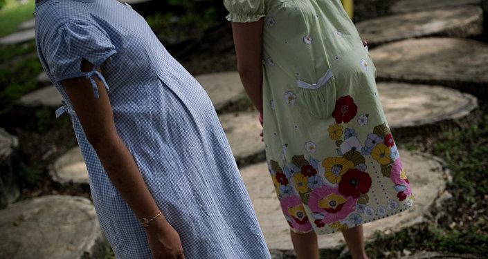 Беременные женщины. Архивное фото