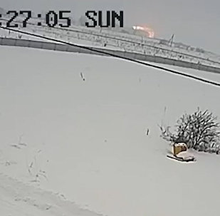 Момент крушения АН-148 попал на камеру видеонаблюдения