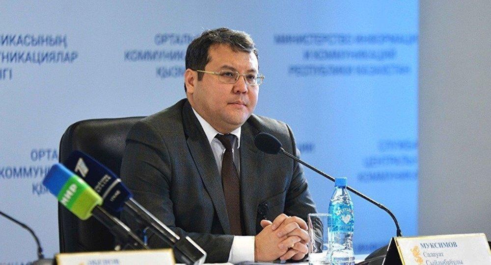 Директор Департамента антикоррупционной политики Агентства по делам госслужбы и противодействию коррупции РК Салауат Муксимов. Архивное фото