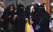 Женщины в хиджабах в Эр-Рияде. Архивное фото