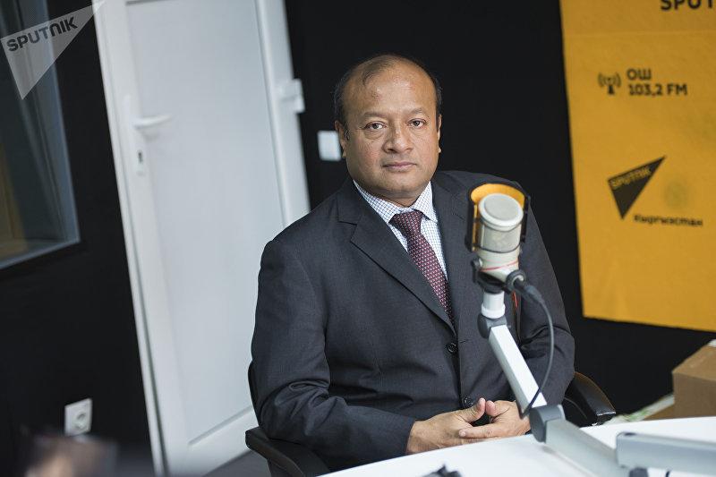 Старший специалист по энергетике Азиатского банка развития Сохэил Хасни во время интервью Sputnik Кыргызстан