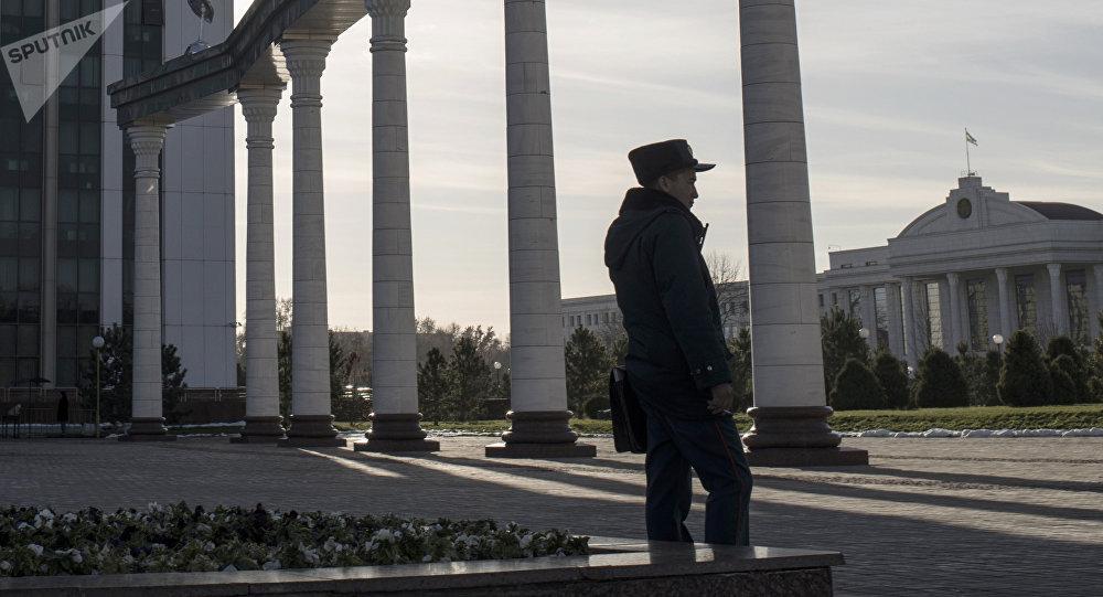 Сотрудник милиции Узбекистана. Архивно фото