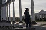 Сотрудник милиции Узбекистана. Архивное фото