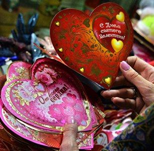 Валентинки к Дню святого Валентина. Архивное фото