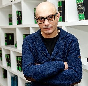 Российский политический эксперт и публицист, историк Армен Гаспарян. Архивное фото