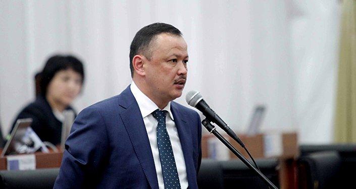 Депутат Улан Примов