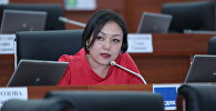 Вице-спикер парламента Аида Касымалиева. Архивное фото