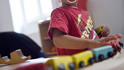 Воспитанник детского сада. Архивное фото