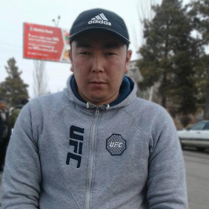 Отец Арслана Бактыбек Толубаев