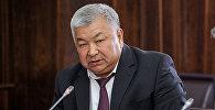 Архивное фото полномочного представителя Правительства в Баткенской области Абиша Халмурзаева