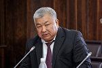 Полномочный представитель Правительства в Баткенской области Абиш Халмурзаев. Архивное фото