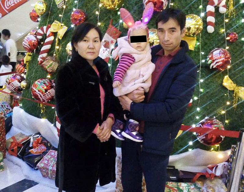 34-летняя Жазгул Омурбекова, погибшая в дтп с дочерью Жумайым и мужем Жыргал Чотоновым