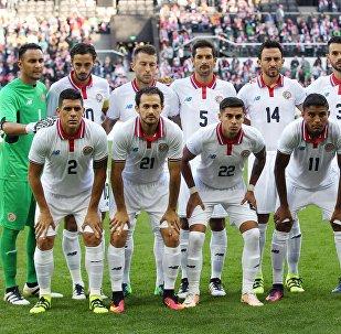 Архивное фото сборной Коста-Рики по футболу