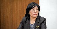 Экс-председатель Государственной регистрационной службы Алина Шаикова. Архивное фото