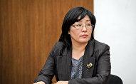 Бывший глава Государственной регистрационной службы Алина Шаикова. Архивное фото