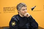 Главный детский инспектор Цхинвала Лали Гатаева во время пресс-конференции, посвященной вопросам воспитания ребенка в современных условиях.
