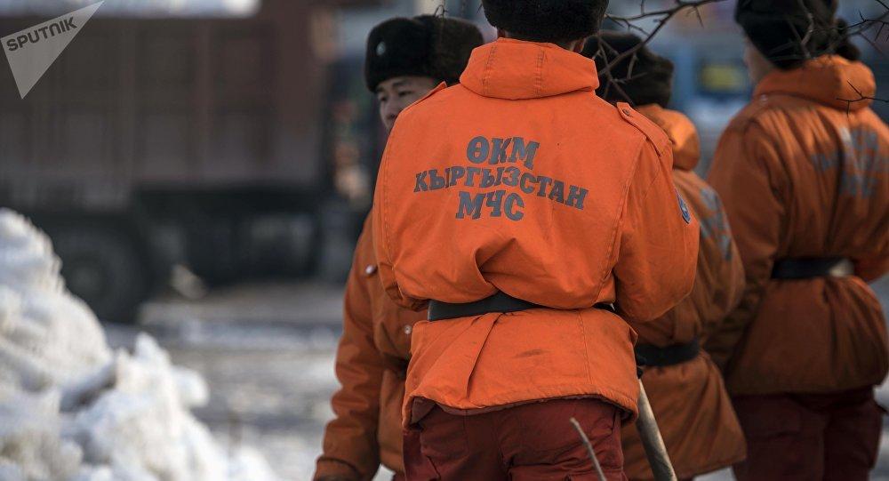 Спасатели МЧС. Архивное фото