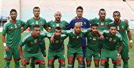 Архивное фото игроков сборной Марокко по футболу