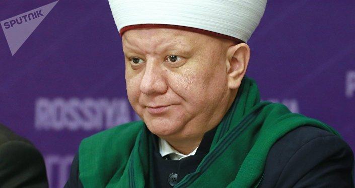 Муфтий Духовного управления мусульман Москвы Альбир Крганов. Архивное фото