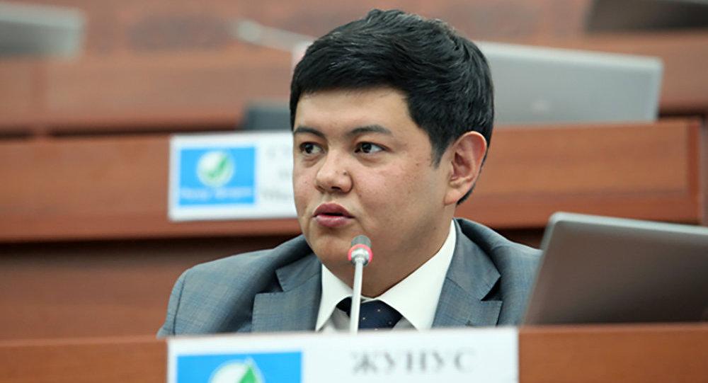Өнүгүү — Прогресс фракциясынын депутаты Алтынбек Жунус уулу