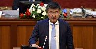 Жогорку Кеңештин депутаты Нурланбек Кадыкеевдин архивдик сүрөтү