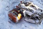Один из бортовых самописцев разбившегося в Подмосковье самолета Ан-148.