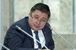 Кыргызстан фракциясынын депутаты Алмазбек Эргешовдун архивдик сүрөтү