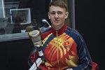 Участник зимних Олимпийских игр в Южной Корее горнолыжник Евгений Тимофеев