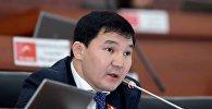 Жогорку Кеңештин депутаты Дамирбек Асылбек уулунун архивдик сүрөтү