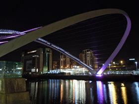 Самые уникальные мосты мира — Гейтсхед Миллениум