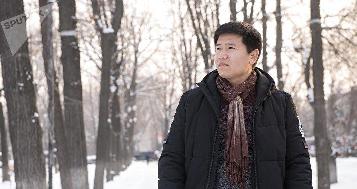 Кыргызстанец Авасбек Рысманов, работающий в Корее