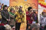 Православные бишкекчане отметили традиционный праздник проводов зимы — Масленицу