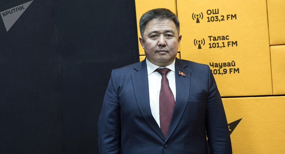 Кыргызстан фракциясынын депутаты Алмаз Эргешов