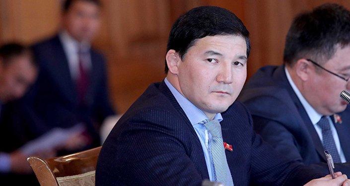 Архивное фото депутата ЖК Дамирбека Асылбек уулу