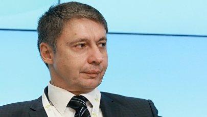 Архивное фото проректора по развитию Академии труда и социальных отношений Александра Сафонова