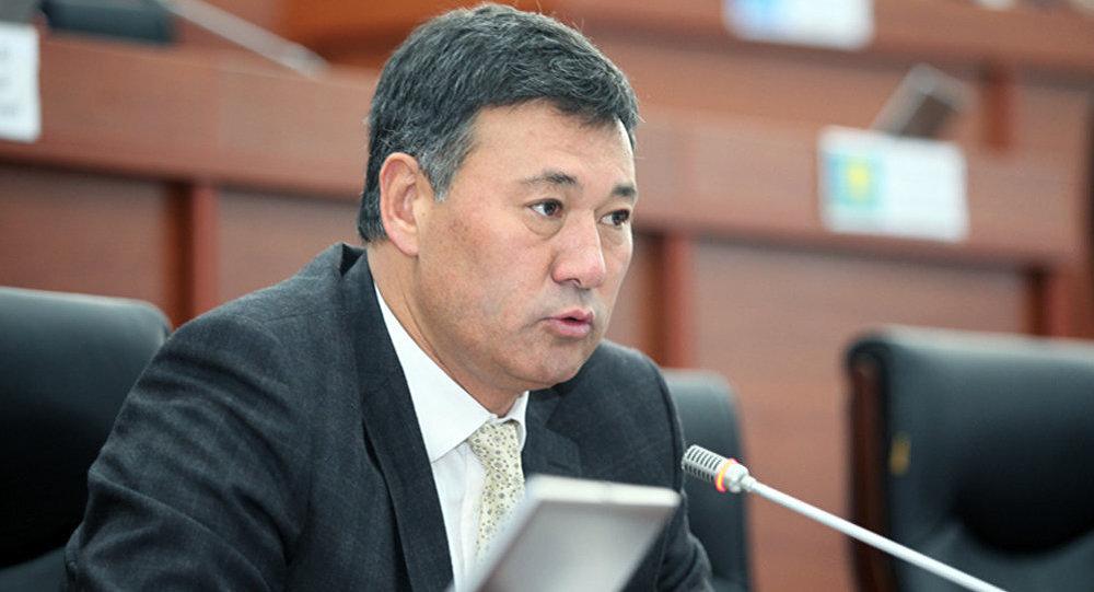 Депутат ЖК от партии Кыргызстан Азизбек Турсунбаев. Архивное фото