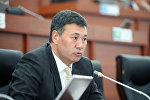 Жогорку Кеңештин депутаты Азиз Турсунбаев. Архив