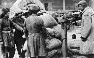 Сдача зерна в Киргизской АССР. 1931 год
