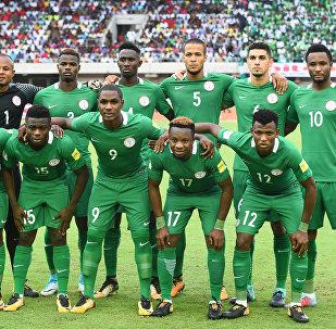 Архивное фото национальной сборной Нигерии по футболу