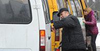 Водитель маршрутного такси. Архивное фото