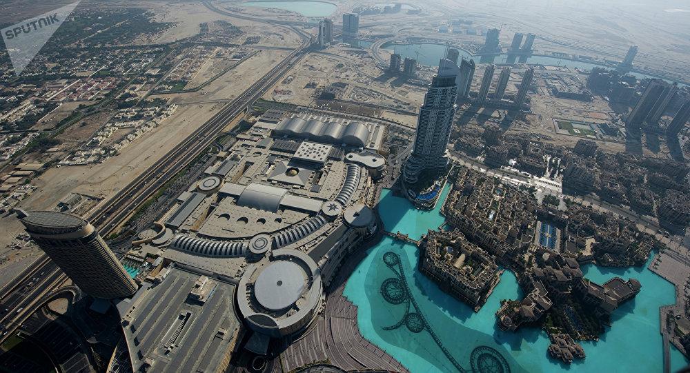 Дубай шаарына көрүнүш. Архив