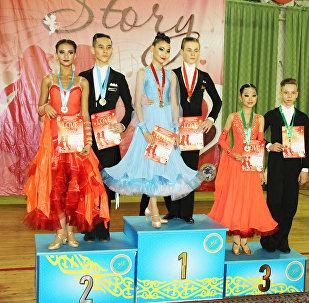 Международный турнир по спортивным бальным танцам в Казахстане